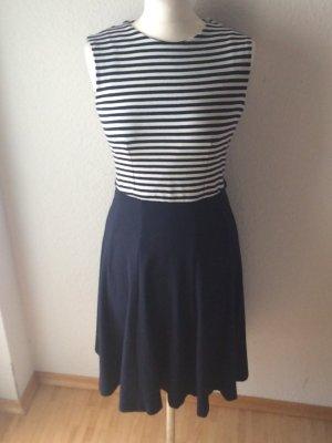 Mango Suit maritimes Sommerkleid blau mit weiß Gr M wie neu