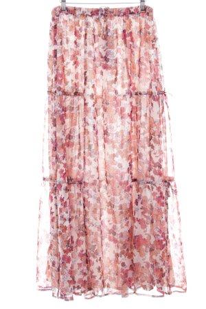 Mango Suit Jupe longue motif floral style décontracté
