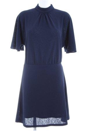 Mango Suit Midikleid blau Business-Look