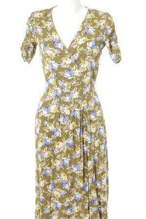 Mango Suit Midi Dress flower pattern hippie style