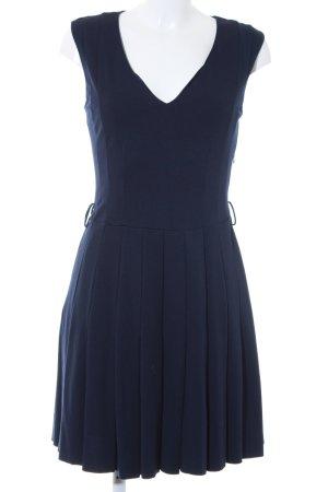 Mango Suit Midikleid dunkelblau Elegant