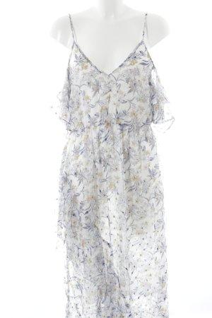 Mango Suit Midikleid florales Muster Casual-Look