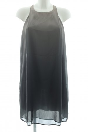 Mango Suit Minikleid hellgrau-schwarz Farbverlauf Elegant