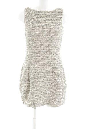 Mango Suit Minikleid hellgrau-weiß meliert Elegant
