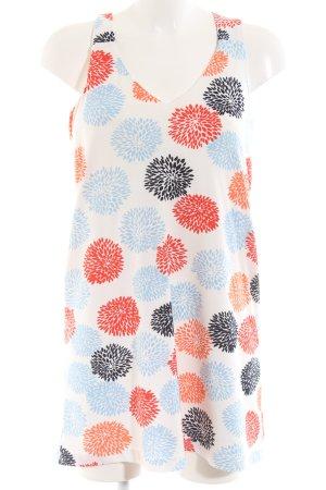 Mango Suit Minikleid Allover-Druck Casual-Look