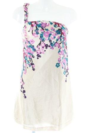 Mango Suit Minikleid Blumenmuster Casual-Look