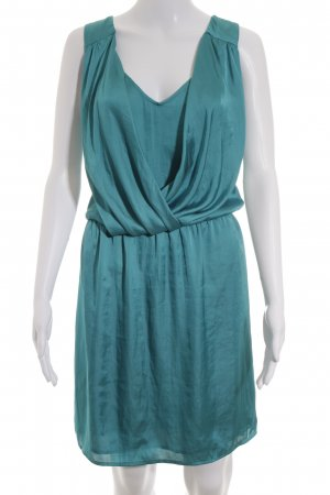 Mango Suit Minikleid türkis Street-Fashion-Look