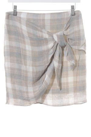 Mango Suit Mini-jupe motif à carreaux élégant