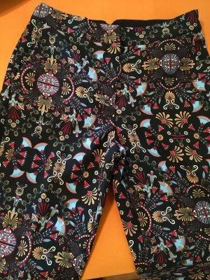 Mango Suit Pantalón de pinza alto multicolor