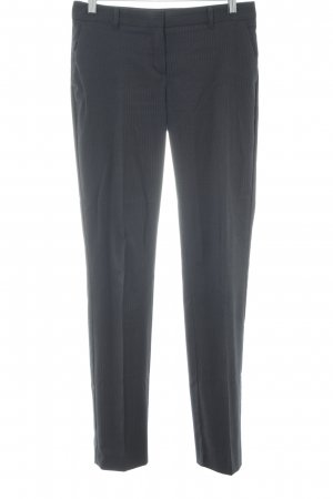 Mango Suit Pinstripe Suit black-white pinstripe business style