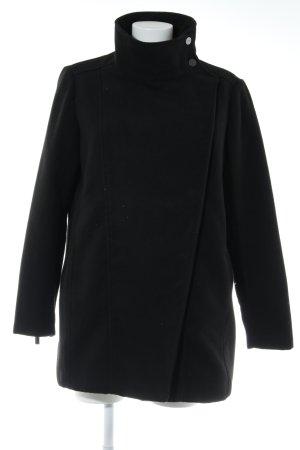 Mango Suit Outdoor jack zwart zakelijke stijl