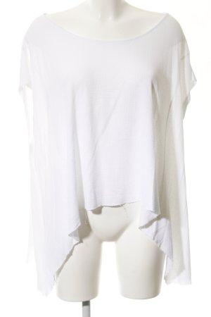 Mango Suit Camisa holgada blanco look casual