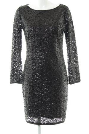 Mango Suit Sequin Dress black elegant
