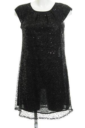 Mango Suit Abito con paillettes nero elegante