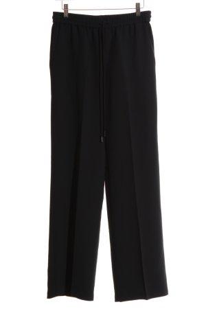 Mango Suit Palazzo Pants black business style
