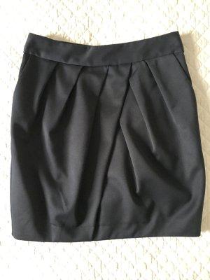 Mango Suit Pencil Skirt dark blue