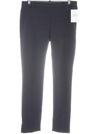 Mango Suit Pantalon cigarette bleu foncé style décontracté