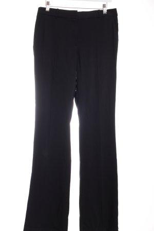 Mango Suit Schlaghose schwarz Business-Look