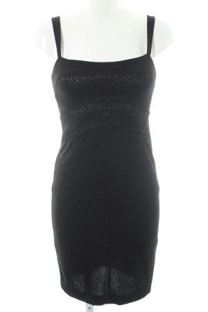 Mango Suit Tube Dress black paisley pattern elegant
