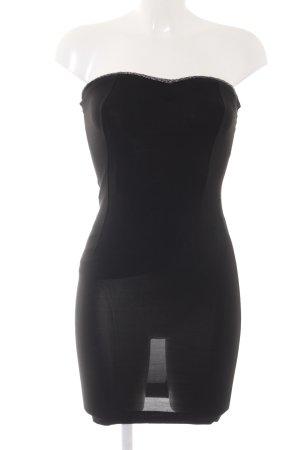 Mango Suit Vestido de tubo negro estilo fiesta