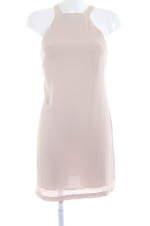Mango Suit schulterfreies Kleid nude Elegant