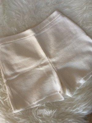 Mango Suit Shorts 38 M creme weiß Boucle Tweed neu Sommer