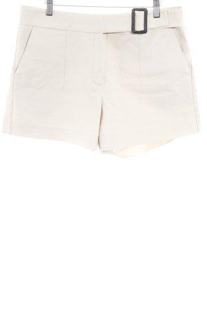Mango Suit Shorts beige Business-Look