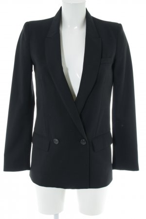 Mango Suit Veste de smoking noir style d'affaires