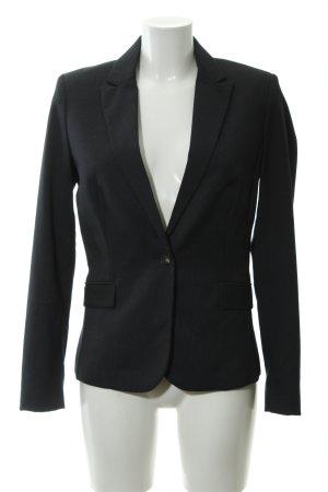 Mango Suit Blazer de esmoquin azul oscuro-gris elegante