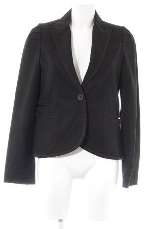 Mango Suit Smoking-Blazer schwarz Casual-Look
