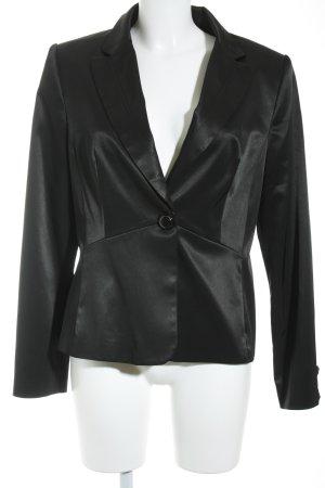 Mango Suit Smoking-Blazer schwarz Elegant