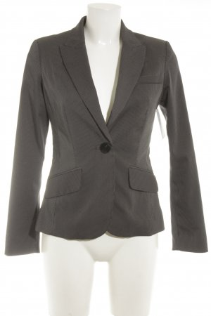 Mango Suit Blazer smoking bianco-antracite gessato stile professionale