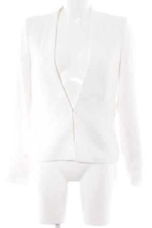 Mango Suit Smoking-Blazer wollweiß Business-Look