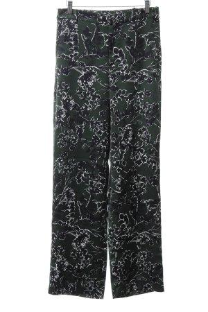 Mango Suit Stoffhose Blumenmuster Casual-Look