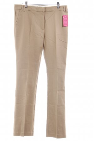 Mango Suit Stoffhose beige Business-Look