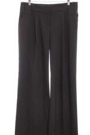 Mango Suit Stoffhose dunkelbraun Business-Look