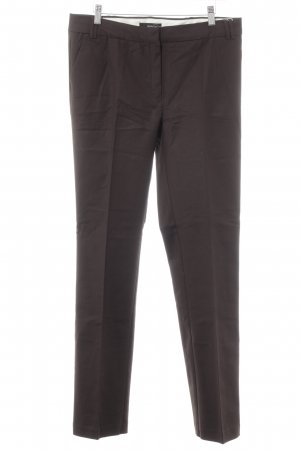 Mango Suit Stoffhose dunkelbraun Business-Look