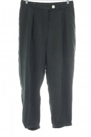 Mango Suit Stoffhose dunkelgrün Street-Fashion-Look