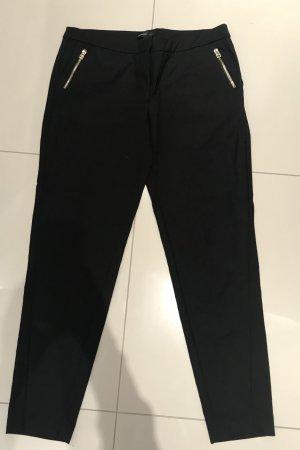 Mango Suit Stretch broek zwart