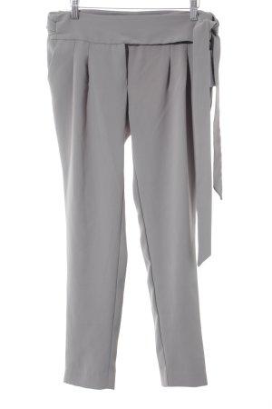 Mango Suit Stoffhose graugrün Business-Look