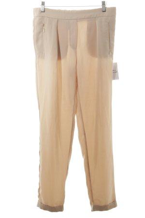 Mango Suit Stoffhose nude Nude-Look