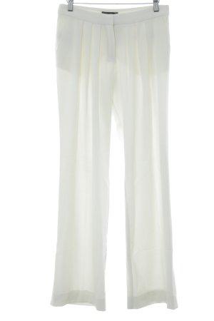 Mango Suit Stoffhose wollweiß Elegant