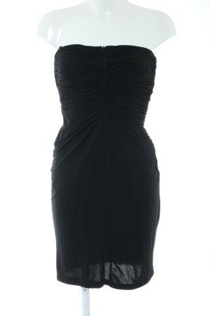 Mango Suit Vestido elástico negro look casual