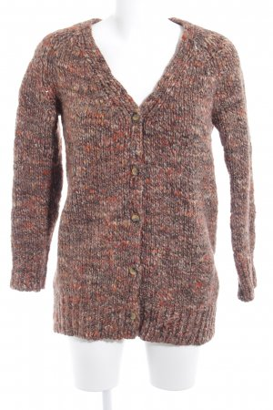 Mango Suit Strick Cardigan meliert Casual-Look