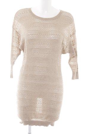 Mango Suit Abito di maglia beige stile casual 2c52a5d0f53