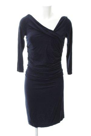 Mango Suit Abito di maglia blu scuro elegante 662f9a7460e