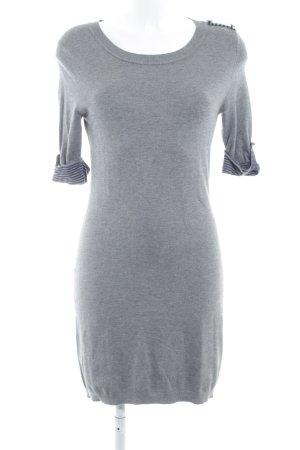 Mango Suit Abito di maglia grigio-blu scuro stile casual 3fbf4675c7f