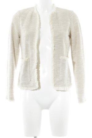 Mango Suit Gilet tricoté beige-crème style décontracté