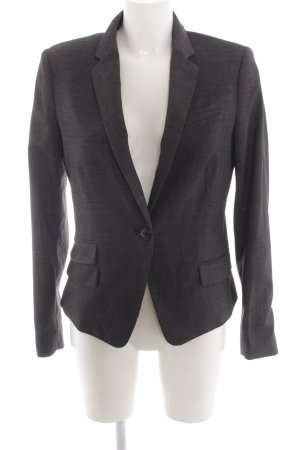 Mango Suit Sweat Blazer black business style