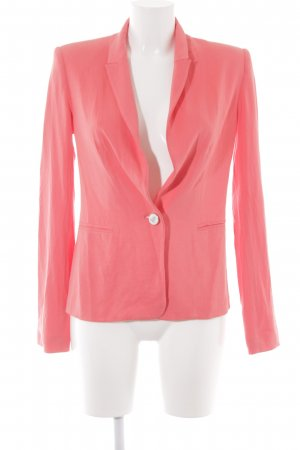 Mango Suit Sweat Blazer salmon casual look